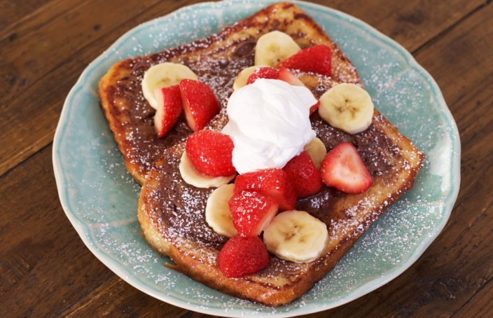 Image result for french toast and fruit